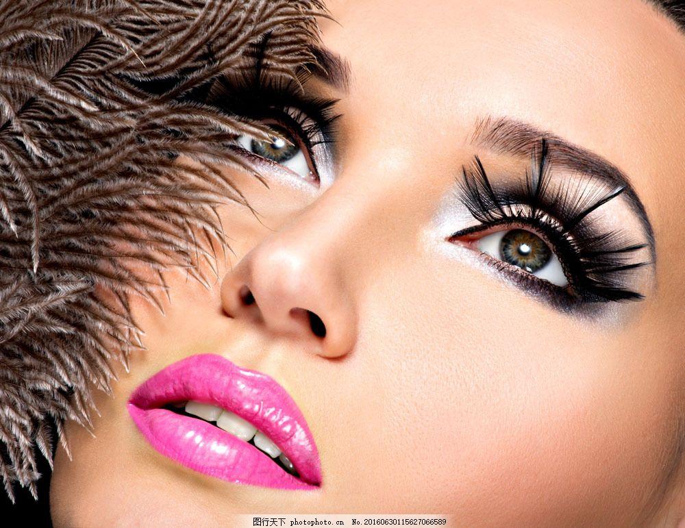 彩妆美女模特图片